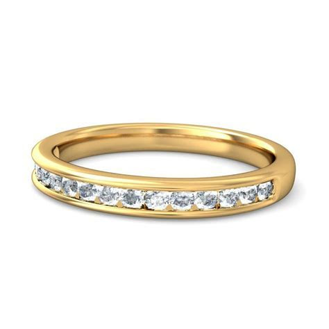 Beautiful Round Diamond Wedding Ring Band   JeenJewels