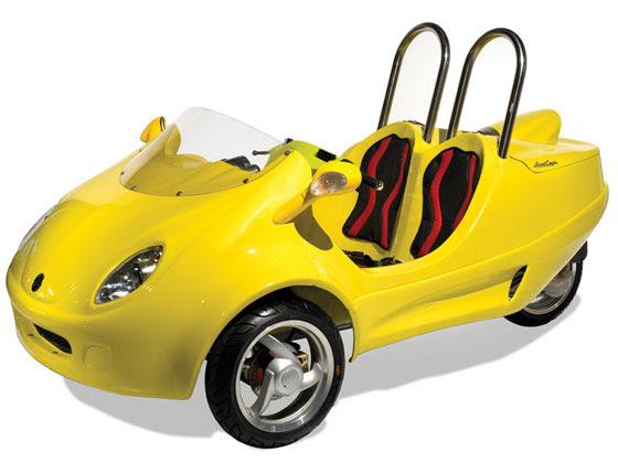 Τρίκυκλα Coupe Σκούτερ