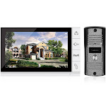 home security 9-inch lcd color video door phone intercom system