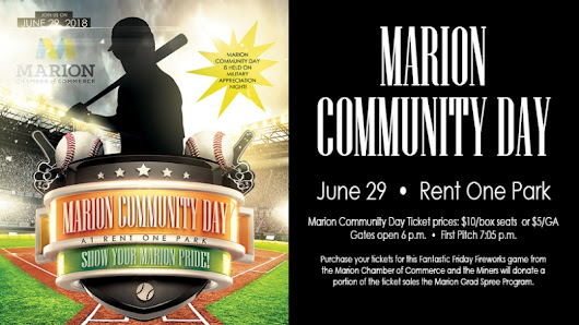 Marion Community Day set for June 29 at Rent One Park Marion ...