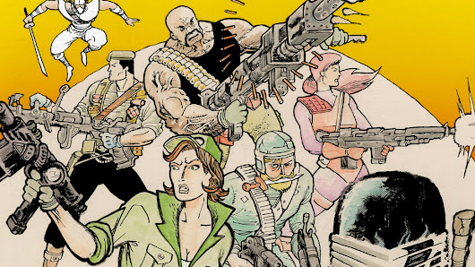 G.I. JOE Goes to SIERRA MUERTE in a New Comic from Michel Fiffe (Exclusive Preview) | Nerdist