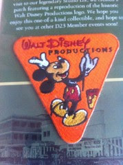 Walt Disney Productions Patch