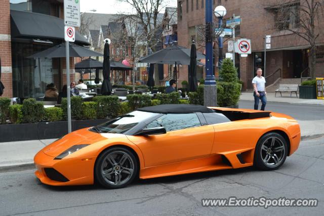 Lamborghini Murcielago spotted in Toronto, Canada on 04\/08