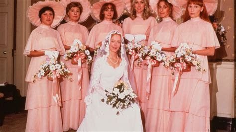 A Cultural History of Ugly Bridesmaids Dresses   Racked
