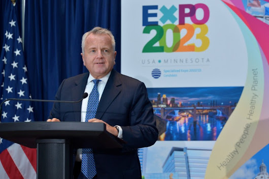 State Department Hosts Reception in Support of Minnesota Expo Bid