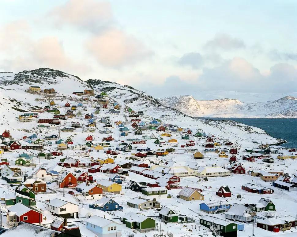 Qaqortoq, au Groenland