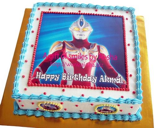 Happy Birthday Akmal Cake