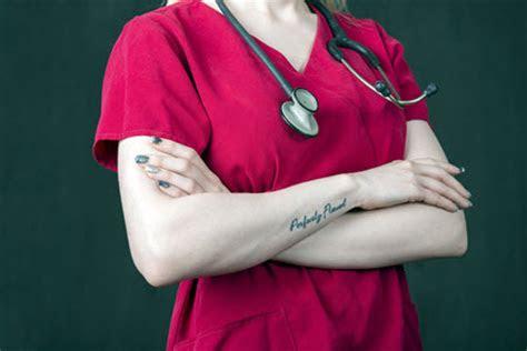 nurses tattoos piercings nursebuff