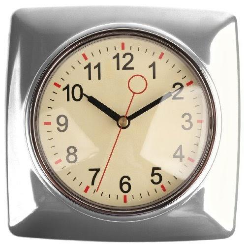Kitchen Wall Clocks: Kikkerland Retro Kitchen Wall Clock
