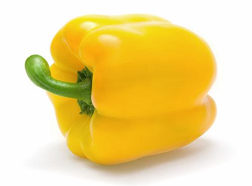 วิตามินซี พริกหยวกสีเหลือง