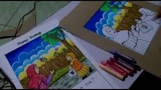 All Clip Of Cara Mewarnai Bebek Dengan Crayon Bhclipcom