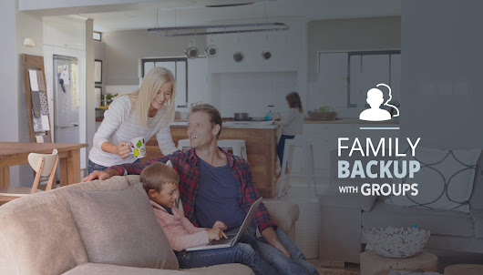 Groups Helps You Manage Family Backup