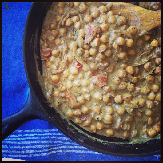 Quick Chickpea Curry Recipe (Chana Dal) - Vibrant Wellness Journal