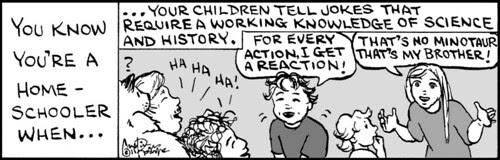 Home Spun comic strip #639