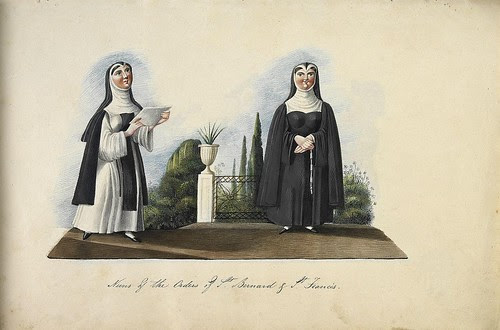 Nuns of the Order of St Bernard and St Francis