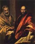 Pedro y  Pablo,  Santos