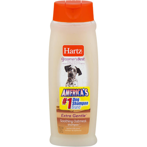 Hartz Groomer's Best Dog Shampoo, Soothing Oatmeal, Extra Gentle - 18 fl oz