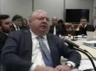 O consultor Júlio Camargo no depoimento em que confirmou propina a Cunha, na quinta