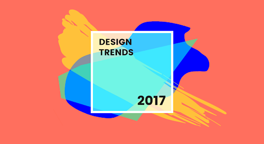 8 New Graphic Design Trends That Will Shine In 2017