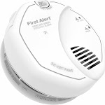 BRK First Alert - SC7010B Hardwired Photoelectric Smoke and Carbon Monoxide Alarm, 29054022806