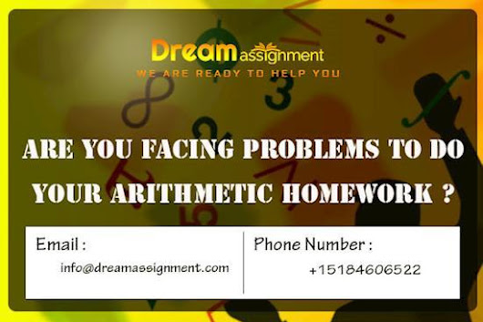 Are You Facing Problems to do Your Arithmetic Homework?