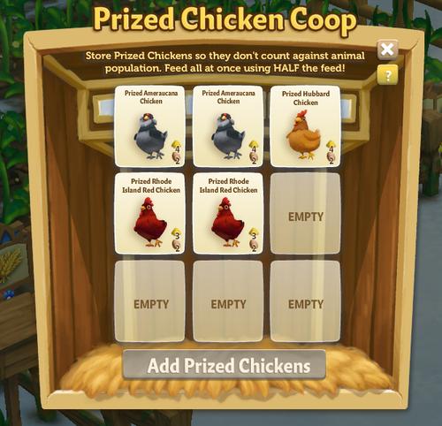 Chicken Coop - FarmVille 2