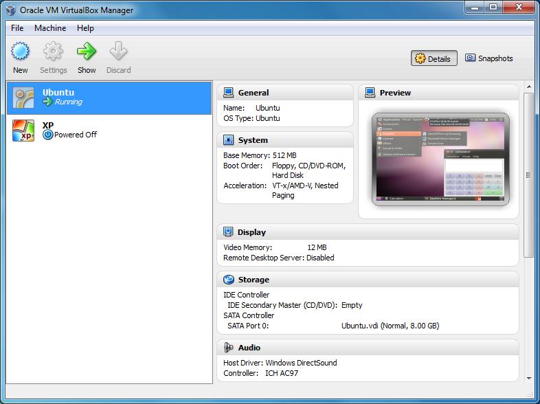 برنامج مجانى يتيح لك تجربة اكثر من نظام تشغيل بشكل إفتراضى على جهازك لوينوز ولينكس وماك VirtualBox 4.2.14
