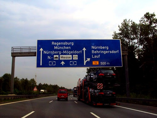 Nurmberg, Germany to Budapest, Sights on the Road