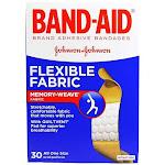 Band-Aid B-A Flex Fabr 3/4 Size 30s Flexible Fabric Bandages