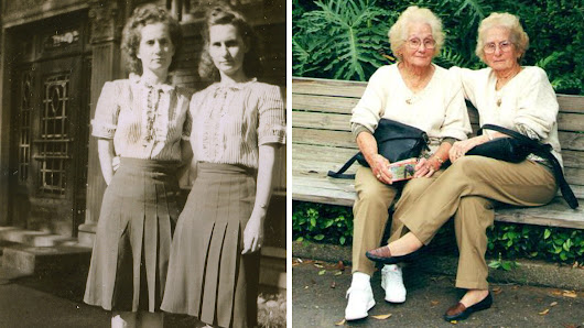 'We've never been separated': 100-year-old twins share unbreakable bond
