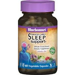 Bluebonnet Targeted choice Sleeping Support Whole Food Based Dietary Suplement Adult 18+ - 60 Vegetable Capsules