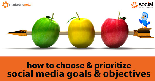 How to Determine and Prioritize Social Media Marketing Goals and Objectives