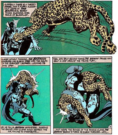 Batman #232 panel