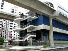 Pioneer MRT Station Fire Escape
