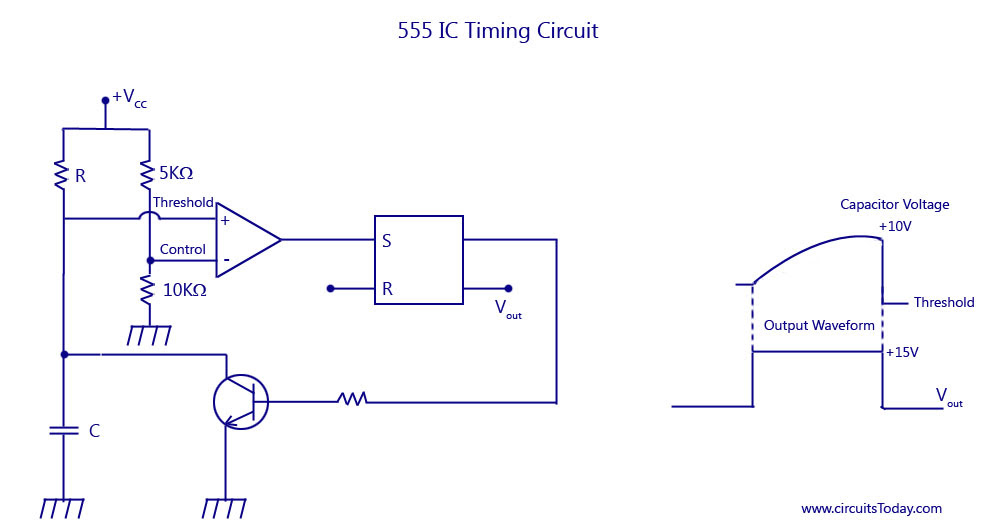 555 IC Timing Circuit