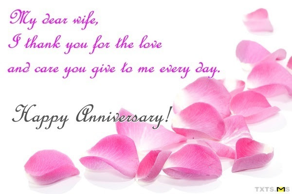 Happy Anniversary Message To Wife Wedding Anniversary Messages For