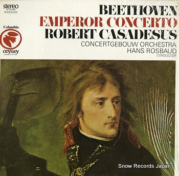 CASADESUS, ROBERT beethoven; emperor concerto