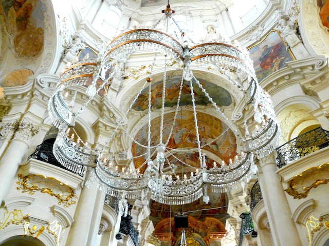 San Nicolás en Staré Město en Praha   Kilian Dientzenhofer   1637