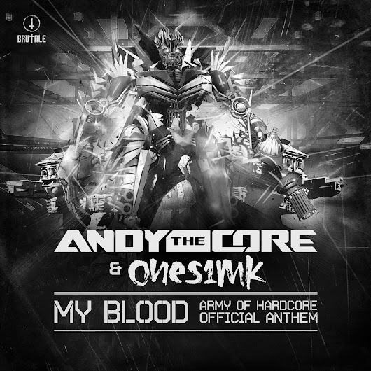 Andy The Core & Ones1mk - My blood - MP3 and WAV downloads at Hardtunes