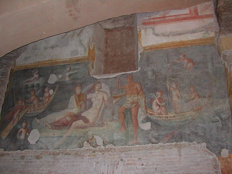 Fil: Celio - Casa Romana al Celio 03-0410.JPG