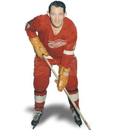 Bill Gadsby Red Wings