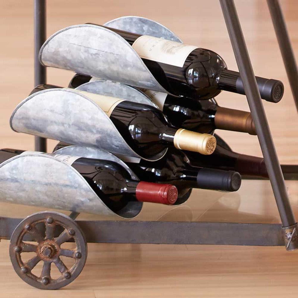 Galvanized Countertop Wine Rack The Vinepair Store