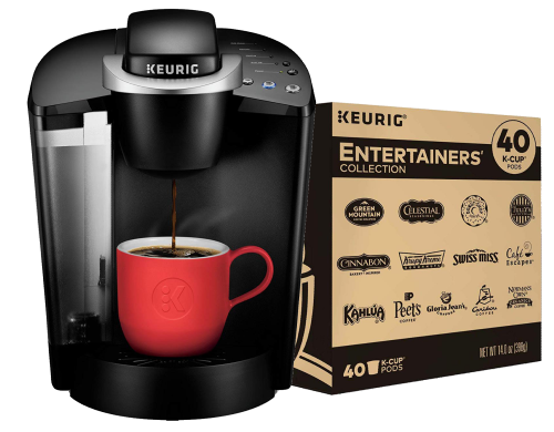 Win a Keurig Classic Coffee Maker and K-Cup Pod Sampler