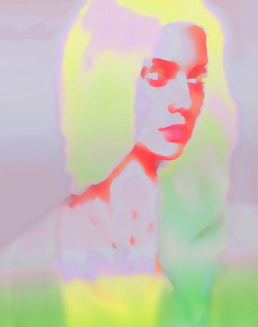LE FASHION BLOG ART JENNIS LI CHENG TIEN BRIGHT AND WHIMSICAL VIA SAATCHI PHOTOGRAPHY DIGITAL GIRL ABSTRACT PORTRAIT NEON YELLOW GREEN ORANGE PINK BEAUTY HAIR 1 photo LEFASHIONBLOGARTJENNISLICHENGTIENBRIGHTANDWHIMSICALVIASAATCHI1.jpg