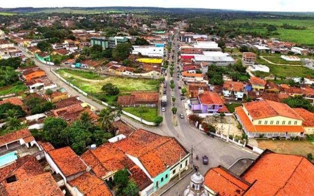Mamanguape/PB. Crédito: imagem de Drone - Reginaldo Infortec