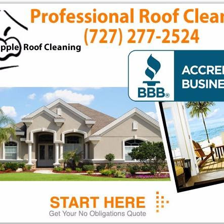 Apple Roof Cleaning Of Pasco & Pinellas - New Port Richey, FL 34654 - (727)277-2524 | ShowMeLocal.com