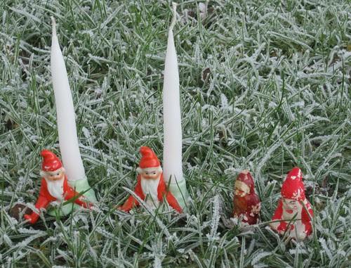 Julenisser fra barndommen