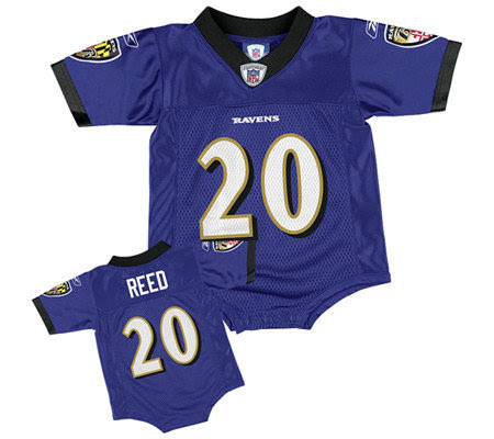 NFL Baltimore Ravens Ed Reed Infant Replica Jersey — QVC.com