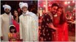 VIDEO: Abhishek, Aishwarya, Aaradhya Bachchan groove to BHANGRA beats at a WEDDING!