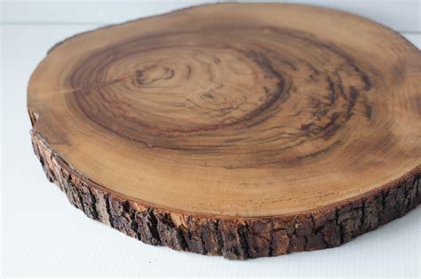 Wood Slice Hire Large   Pretty Pedestals